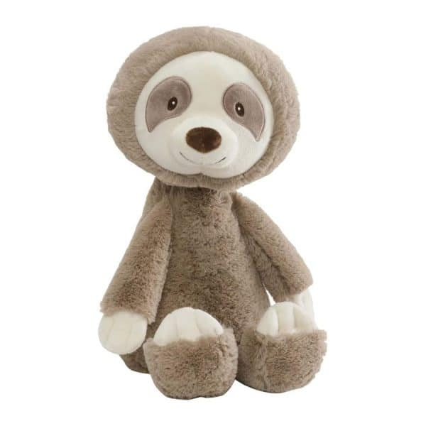 """Baby GUND Baby Toothpick Sloth Stuffed Animal Plush Toy, Taupe 16"""", Multicolor"""