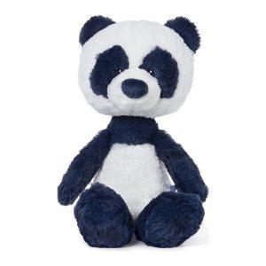 "GUND Baby Toothpick Panda Bear Plush Stuffed Animal 12"", Blue/Cream"