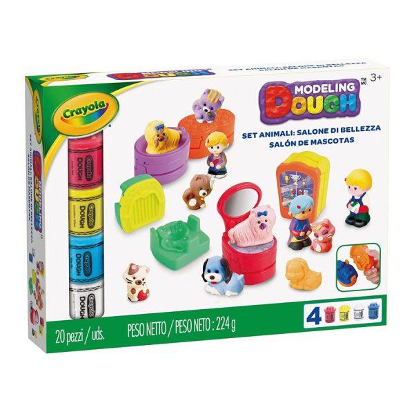 Crayola Modeling Dough Pet Salon Playset