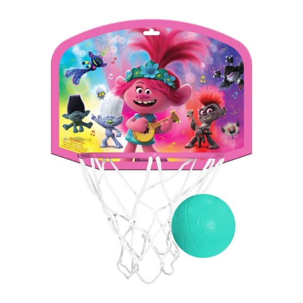 Trolls 2 Basketball Hoop Set