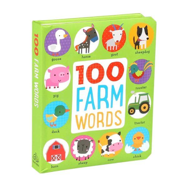 100 Farm Words Board book – Picture Book