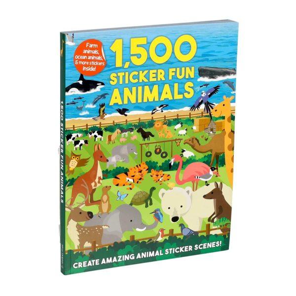1,500 Sticker Fun Animals Paperback – Sticker Book