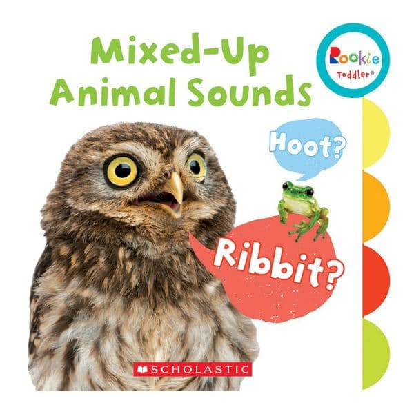 Rookie Toddler: Mixed-Up Animal Sounds Board book