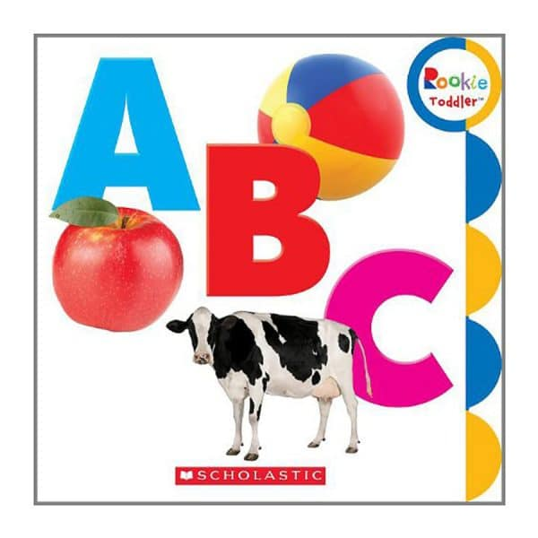 Rookie Toddler: ABC Board book