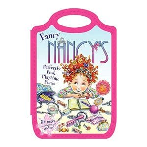 Fancy Nancy's Perfectly Pink Playtime Purse Softcover-Paperback – Sticker Book