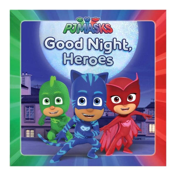 Good Night, Heroes Hardcover – Picture Book