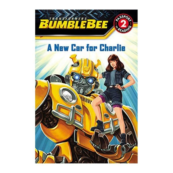 Transformers Bumblebee: A New Car for Charlie: Level 2 Softcover-Paperback