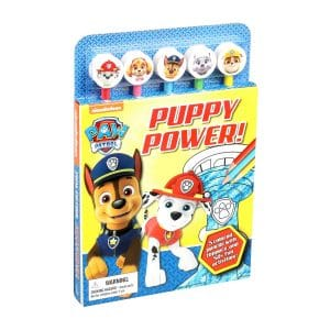 Paw Patrol: Puppy Power! Pencil Toppers with Activty Book Softcover
