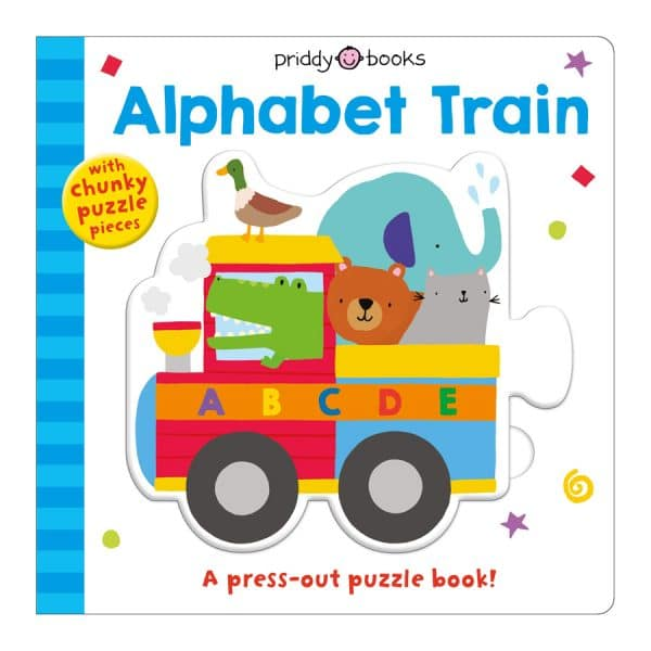 Puzzle and Play: Alphabet Train: A Press-out Puzzle Book! Board book