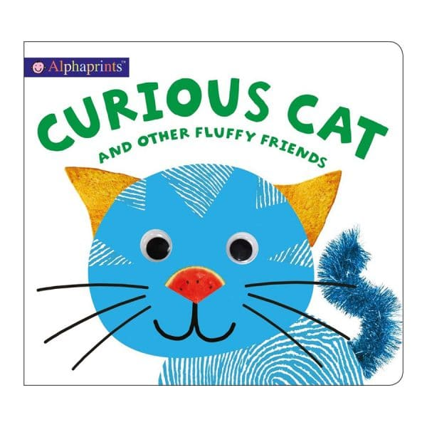 Alphaprints: Curious Cat and other Fluffy Friends Board book