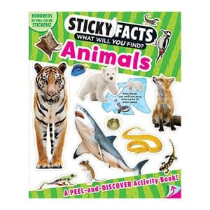 Sticky Facts: Animals Softcover-Paperback