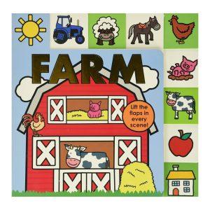 Lift-the-Flap Tab: Farm Board book
