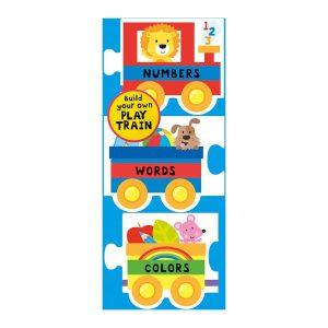 Chunky Set: Play Train Board book