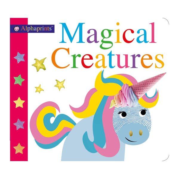 Alphaprints: Magical Creatures Hard cover