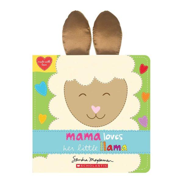 Mama Loves Her Little Llama Board book