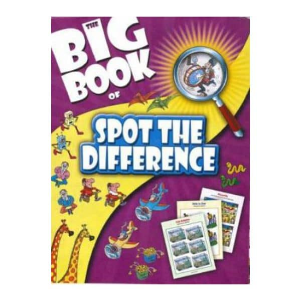 The Big Book of Spot the Difference - Softcover