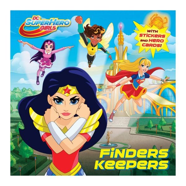 Finders Keepers (DC Super Hero Girls) Softcover-Paperback