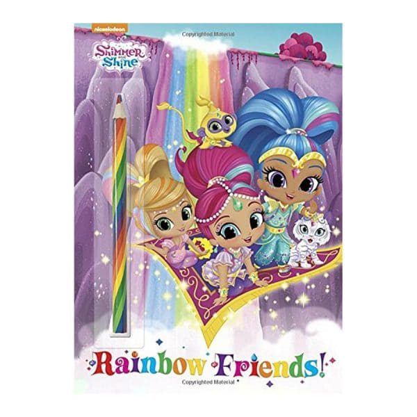 Rainbow Friends! (Shimmer and Shine) Softcover-Paperback