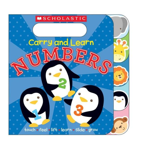 Carry and Learn Numbers Board book – Lift the flap