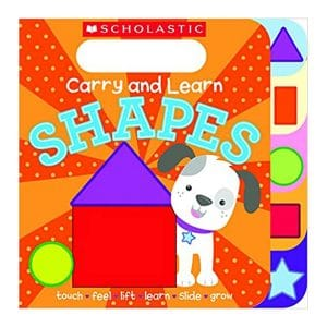 Carry and Learn Shapes Hardcover