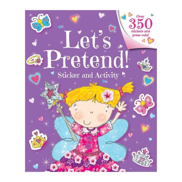 Let's Pretend! Sticker and Activity Softcover-Paperback