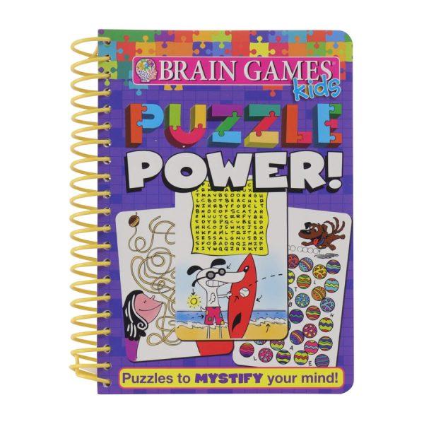 Brain Games Kids Puzzle Power! Spiral-bound Softcover