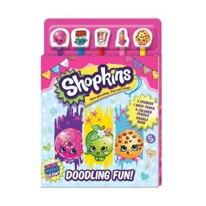 Shopkins: Doodling Fun! Pencil Toppers with Activty Book Softcover