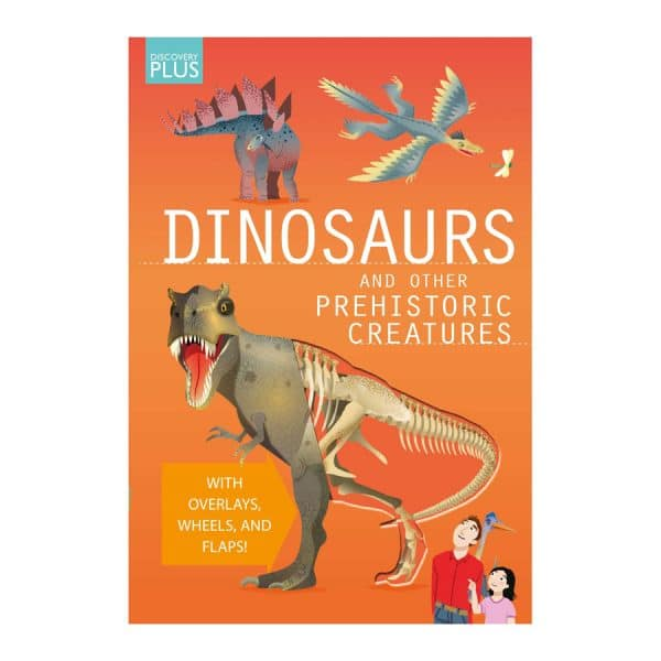 Discovery Plus: Dinosaurs and Other Prehistoric Creatures Spiral-bound