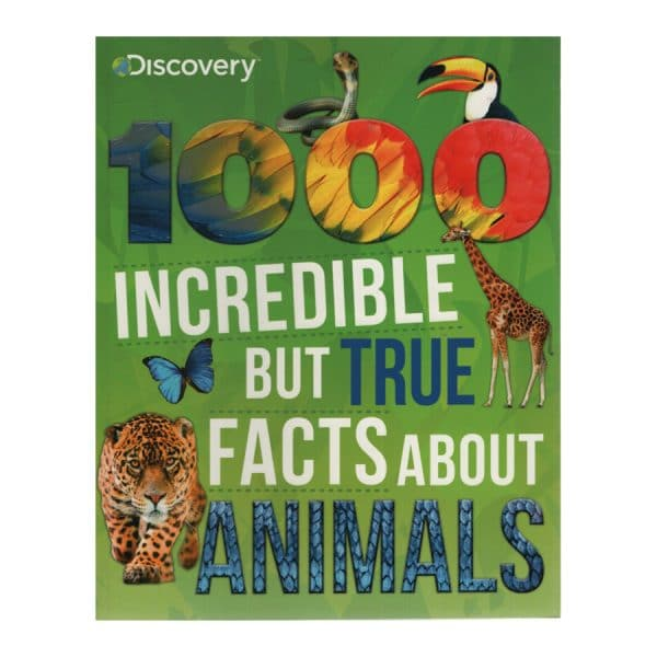 Discovery 1000 Incredible But True Facts About Animals - Softcover-Paperback
