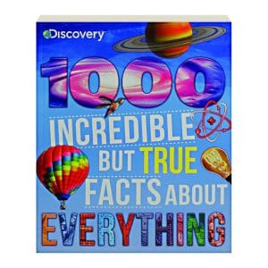 Discovery 1000 Incredible But True Facts About Everything - Softcover-Paperback