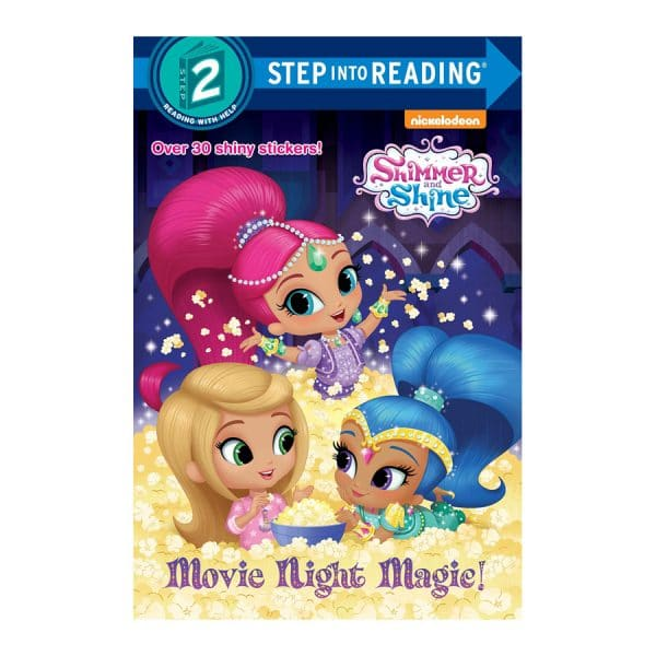Movie Night Magic! (Shimmer and Shine) Paperback – Picture Book