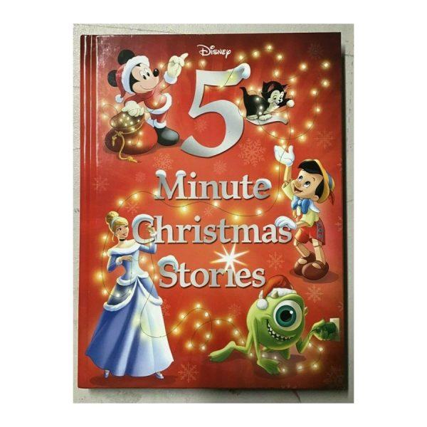 Disney 5 Minute Christmas Stories - Hardcover