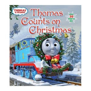 Thomas Counts on Christmas (Thomas & Friends) Board book – Lift the flap