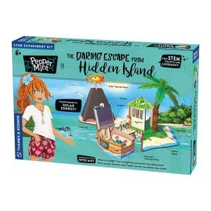 Pepper Mint in The Daring Escape from Hidden Island STEM Experiment Kit