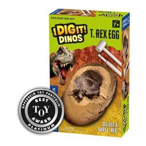 I Dig It Dinos T. Rex Egg Excavation Kit
