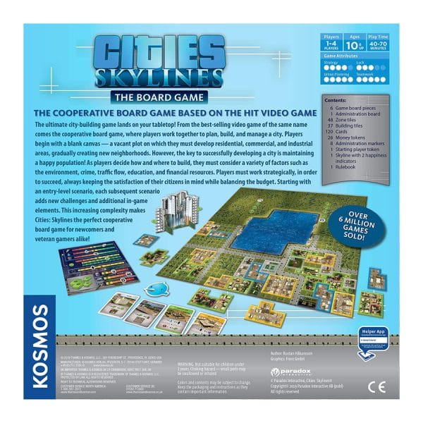 City Skylines The Board Game