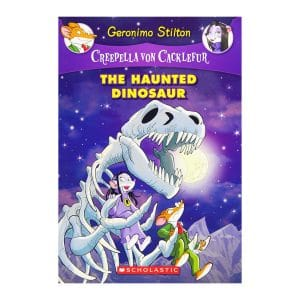 The Creepella von Cacklefur #9: The Haunted Dinosaur: A Geronimo Stilton Adventure Paperback