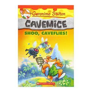 Geronimo Stilton Cavemice #14: Shoo, Caveflies! Paperback