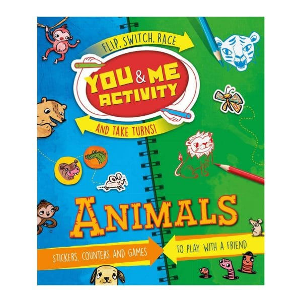 You & Me Activity: Animals: Stickers, Counters and Games to Play with a Friend Paperback