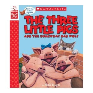 The Three Little Pigs and the Somewhat Bad Wolf (A StoryPlay Book) Hardcover