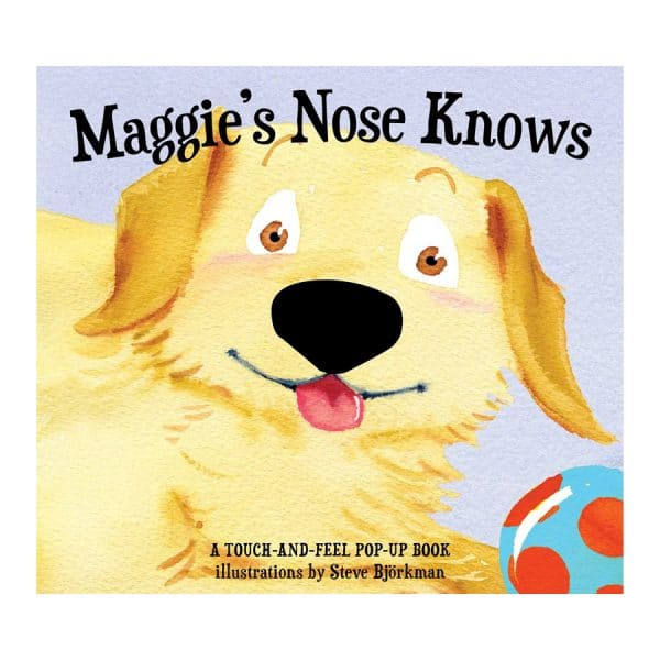 Maggie's Nose Knows: A Stunning Pop-Up Book Hardcover – Pop up
