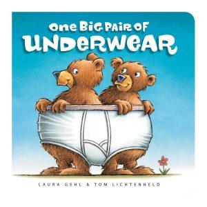 One Big Pair of Underwear Board book