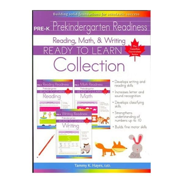 Pre-K Readiness Collection (Ready to Learn) Reading, Math & Writing
