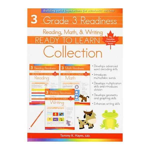 Grade 3 Readiness Collection (Ready to Learn) Reading, Math & Writing