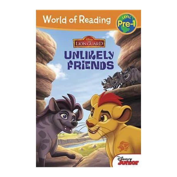 Unlikely Friends - The Lion Guard - World of Reading - Level Pre-1
