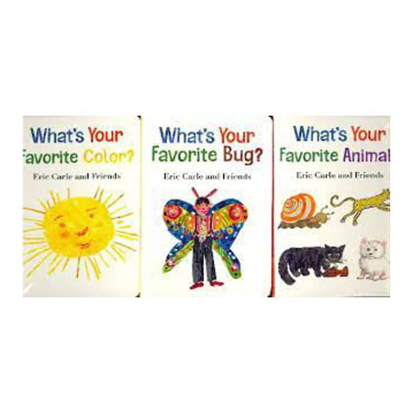 Eric Carle & Friends: What's Your Favorite? (3 Book Set)
