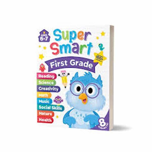Super Smart First Grade Workbook