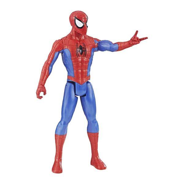 Spider-Man:Titan Hero Series Figure (Blue & Red Suit)