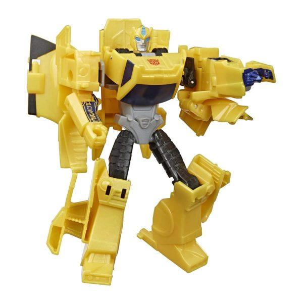 Transformers Bumblebee Cyberverse Adventures Warrior Class Sting Shot Bumblebee Action Figure