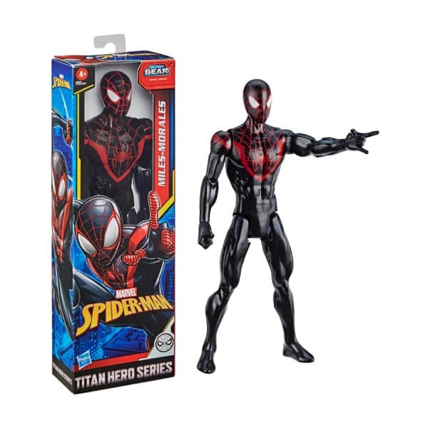 Spider-Man:Titan Hero Series Miles Morales Figure